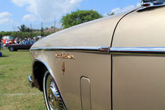 Classic luxury american car side detail Royalty Free Stock Photo