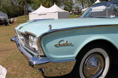 Classic luxury american convertible car Royalty Free Stock Images
