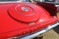 Classic luxury americana car detail stock photos