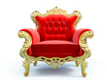Classic luxury chair Royalty Free Stock Photos