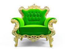 Classic luxury chair Royalty Free Stock Image