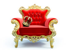 Classic luxury chair Stock Photography
