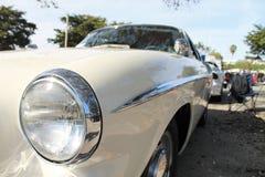 Classic luxury european car side detail Stock Photos