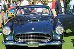 Classic luxury Ferrari front view Royalty Free Stock Images