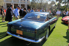 Classic luxury Ferrari side rear view Stock Images