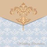 Classic luxury invitation card Stock Photography