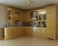 Classic luxury kitchen Stock Photography