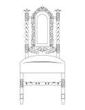 Classic luxury style furniture Stock Image