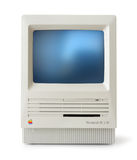 Classic Mac SE front Royalty Free Stock Images