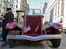 Classic Mack Fire Truck Royalty Free Stock Photos