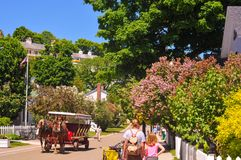 Classic Mackinac Royalty Free Stock Photography