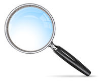 Classic Magnifying Glass. Royalty Free Stock Images