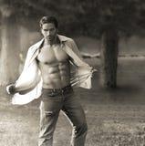 Classic male portrait stock photos