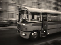 Classic Malta Bus Royalty Free Stock Photography