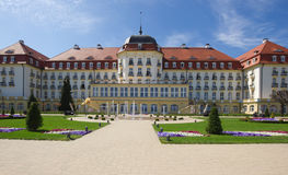 Classic mansion in Sopot, Poland. Classic mansion in Sopot resort, Poland royalty free stock image