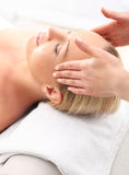 Classic massage Stock Images