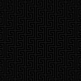 Classic meander seamless pattern. Stock Image