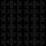 Classic meander seamless pattern. Stock Photo