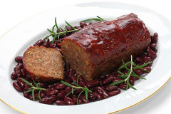 Classic meatloaf Royalty Free Stock Photography
