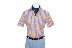 Classic men's clothing for leisure Stock Images