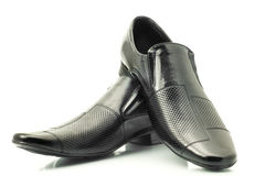 Classic Men's patent-leather shoes Royalty Free Stock Image