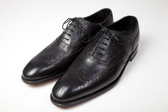 Classic men's shoes Stock Images