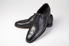 Classic men's shoes royalty free stock images