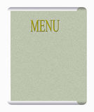 Classic menu style. Make any food look good Stock Photography