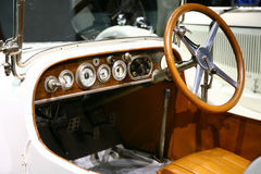 Classic  mercedes benz car interior Royalty Free Stock Photography