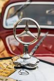 Classic Mercedes on the rally of vintage cars in Krakow, Poland Stock Images