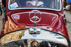 Classic Mercedes on the rally of vintage cars in Krakow, Poland Stock Photography