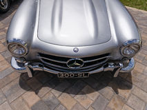 Classic Mercedes 300-SL Nose Stock Photography