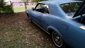 Classic mercury montego 1969 blue Royalty Free Stock Photography