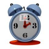 Classic metal clock Royalty Free Stock Images