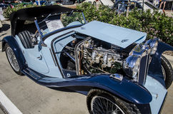 Classic MG A roadster Stock Images