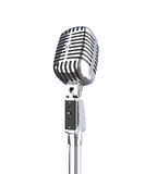 Classic microphone Stock Photo