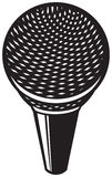Classic microphone Stock Images