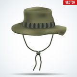 Classic military boonie hat vector Royalty Free Stock Images