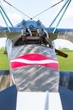 Classic military plane with guns Stock Photography