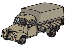 Classic military truck Stock Images