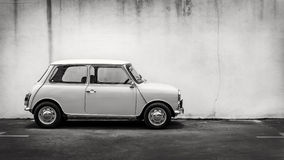 Classic mini car Royalty Free Stock Photography
