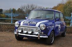 Classic Mini Cooper Sports car Royalty Free Stock Photo
