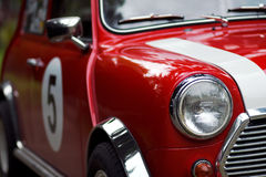 Classic Mini Detail Stock Photo