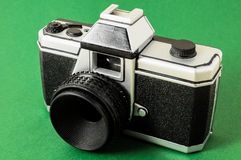 Classic 35mm Plastic Toy Photo Camera Stock Images