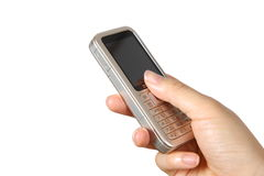 Classic mobile phone Stock Images