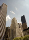 Classic and modern buildings on 5th Avenue, NY Royalty Free Stock Photography