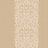 Classic  monochrome card, seamless vertical stripe  . Vector print. Beautiful symmetrical  pattern, seamless delicate pastel  background. Use for greeting card Royalty Free Stock Photography