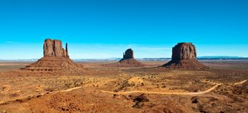 Classic Monument Valley view Stock Photo