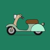 Classic moped Stock Photo