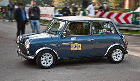 Classic Morris Mini Cooper Stock Photography